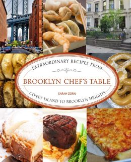 Brooklyn Chef's table book by Sarah Zorn from Brooklyn Magazine