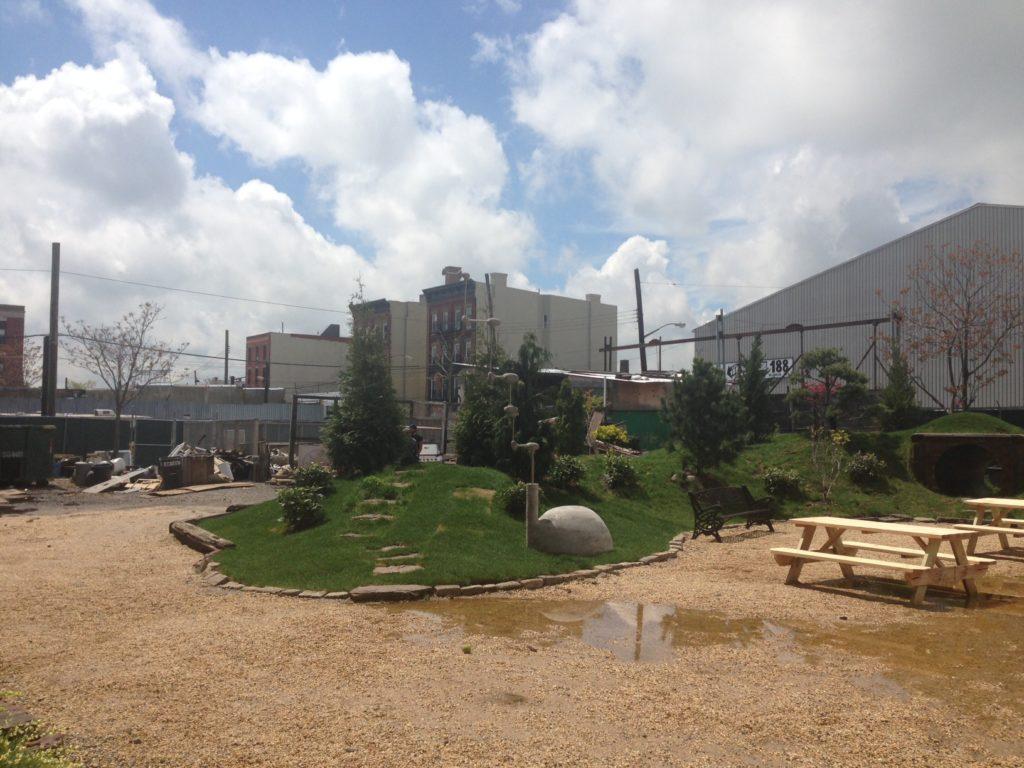 Pioneer Works outdoor space
