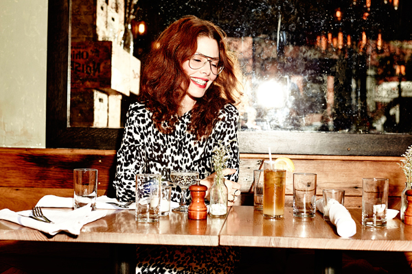 Christene Barberich at Rucola featured in Refinery 29